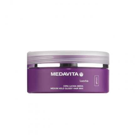 Medavita Luxviva Medium Hold Glossy Hair Wax 100 ml