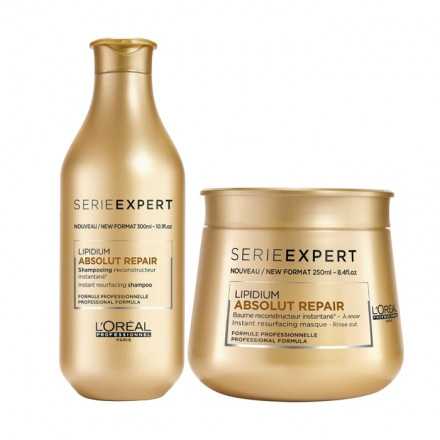 L'Oreal Kit Serie Expert Absolut Repair Lipidium Shampoo + Masque