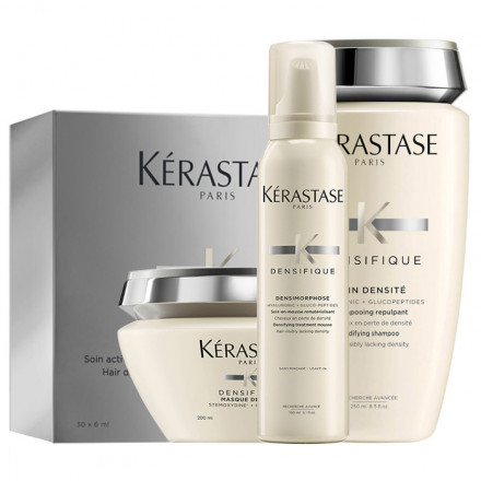 Kerastase Kit Densifique 30 x 6 ml Vials + Bain + Masque + Treatment