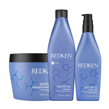 Redken Kit Extreme Shampoo + Mask + Treatment