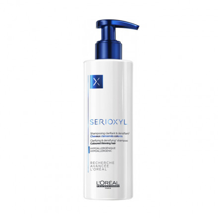 L'Oreal Serioxyl Clarifying & Densifying Shampoo Coloured Thinning Hair  250 ml