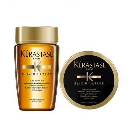 Kerastase Mini Kit Elixir Ultime Bain + Masque