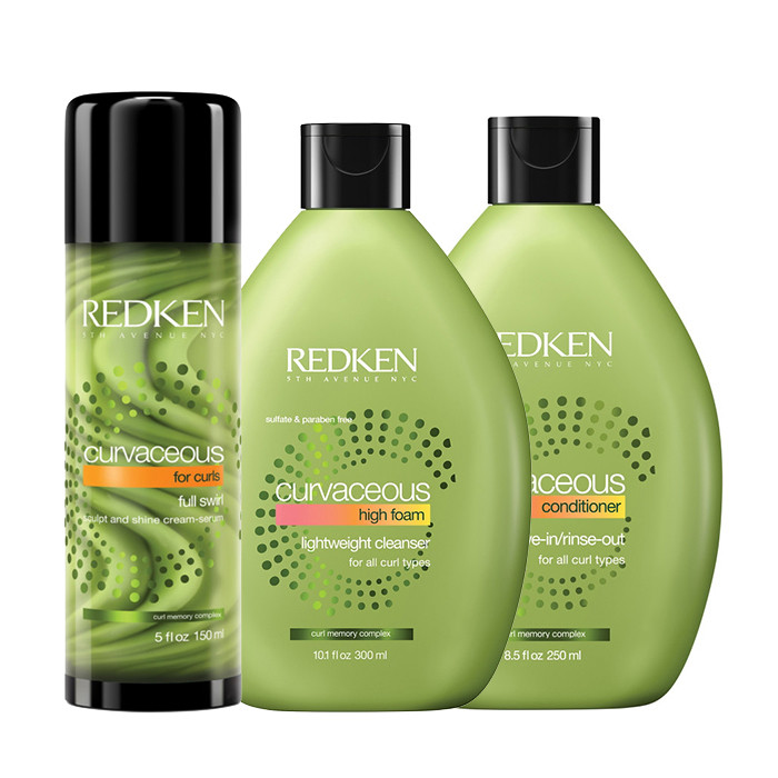 e6f39b741 Redken Kit Curvaceous Shampoo + Conditioner + Styling | Trilabshop.com