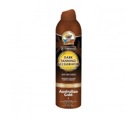 Australian Gold Dark Tanning Accelerator Continuos Spray BRONZERS 177 ml