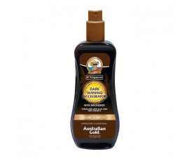 Australian Gold Dark Tanning Spray Gel Accelerator BRONZERS 237 ml