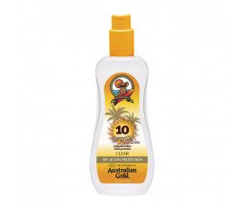 Australian Gold SPF10 Spray Gel Sunscreen CLEAR 237 ml