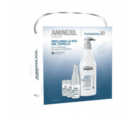L'Oreal Serie Expert Aminexil Advanced 30 x 6 ml Vials + Density Advanced Shampoo 500 ml