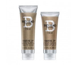 Tigi Kit Bed Head For Men Charge Up Shampoo + Conditioner
