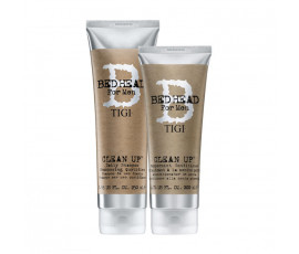 Tigi Kit Bed Head For Men Clean Up Shampoo + Conditioner