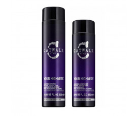 Tigi Kit Catwalk Your Highness Elevating Shampoo + Conditioner