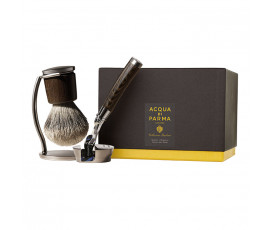 Acqua di Parma Collezione Barbiere Deluxe Stand Shaving Brush and Shaving Razor with Gilette Fusion Proglide Razor Blades