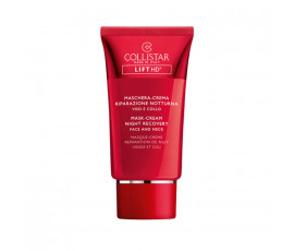 Collistar Lift HD Mask-Cream Night Recovery Face And Neck 75 ml