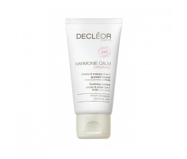 Decleor Paris Harmonie Calm Organic Soothing Comfort Cream & Mask 2 In 1 Sensitive Skin 50 ml