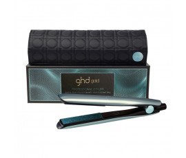 Ghd Gold Glacial Blue Styler + UK Plug