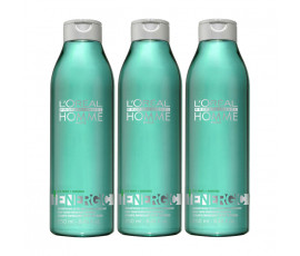 L'Oreal Kit Homme Energic Shampoo 250 ml x 3