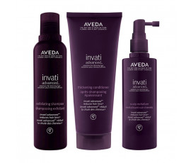 Aveda Kit Invati Advanced Shampoo + Conditioner + Treatment