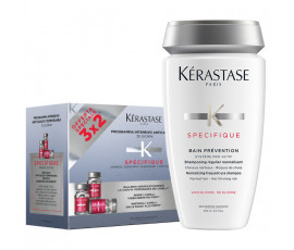 Kerastase Kit Specifique 30 x 6 ml Vials + Bain Prevention