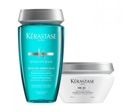 Kerastase Kit Specifique Dermo-Calm Bain + Masque