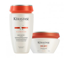 Kerastase Kit Nutritive Irisome Bain 1 + Masque For Fine Hair