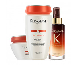 Kerastase Kit Nutritive Irisome Bain 1 + Fine Hair + Night Serum
