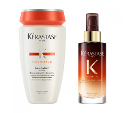 Kerastase Kit Nutritive Irisome Bain 1 + Night Serum