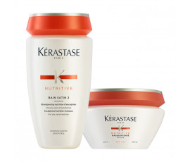 Kerastase Kit Nutritive Irisome Bain 2 + Masque For Thick Hair