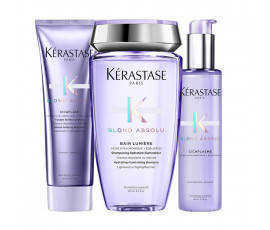 Kerastase Kit Blond Absolu Bain Lumiere + Fondant + Treatment