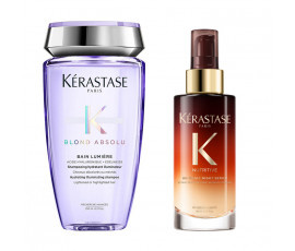 Kerastase Kit Blond Absolu Bain Lumiere + Night Serum
