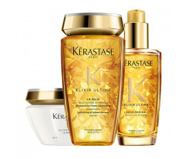 Kerastase Kit Elixir Ultime Bain + Masque + Oil