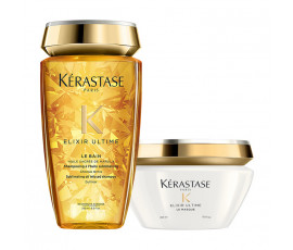 Kerastase Kit Elixir Ultime Bain + Masque