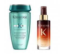 Kerastase Kit Resistance Extentioniste Bain + Night Serum