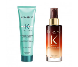 Kerastase Kit Resistance Extentioniste Treatment + Night Serum