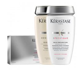 Kerastase Kit Specifique 30 x 6 ml Vials + Bain Densite + Bain Prevention (Free)