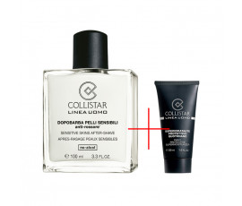 Collistar Kit Linea Uomo Sensitive Skin After-Shave 100 ml + Daily Protective Supermoisturiser 30 ml