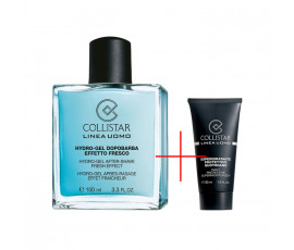 Collistar Kit Linea Uomo Hydro-Gel After-Shave Fresh Effect 100 ml + Daily Protective Supermoisturiser 30 ml