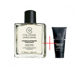 Collistar Kit Linea Uomo After-Shave Toning Lotion 100 ml + Daily Protective Supermoisturiser 30 ml