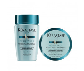 Kerastase Mini Kit Resistance Force Architecte Bain + Mask