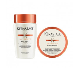 Kerastase Mini Kit Nutritive Irisome Bain 2 + Masque For Thick Hair