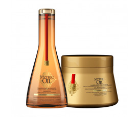 L'Oreal Kit Mythic Oil Shampoo + Masque for Thick Hair