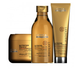 L'Oreal Kit Serie Expert Nutrifier Shampoo + Masque + Treatment