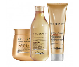 L'Oreal Kit Serie Expert Nutrifier Glycerol Shampoo + Masque + Treatment