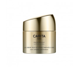 Carita Paris Progressif Anti-Age Global Perfect Cream Trio of Gold for Eyes and Lips 15 ml