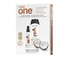 Revlon Professional Dual Pack UniqONE Coconut Conditioning Shampoo + Hair Treatment