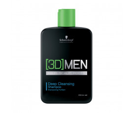 Schwarzkopf Professional [3D]Men Deep Cleansing Shampoo 250 ml