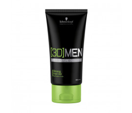 Schwarzkopf Professional [3D]Men Strong Hold Gel 150 ml