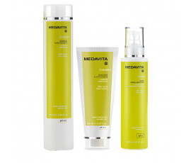 Medavita Kit Curladdict Shampoo 250 ml + Mask + Styling