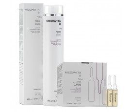 Medavita Kit Velour Shampoo + Vials 12 x 6 ml