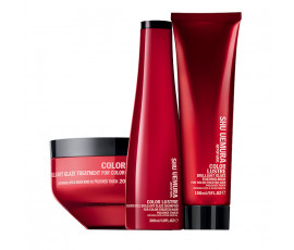 Shu Uemura Kit Color Lustre Shampoo + Mask + Treatment