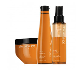 Shu Uemura Kit Urban Moisture Shampoo + Mask + Treatment