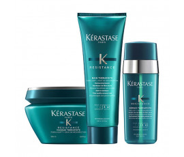 Kerastase Kit Resistance Therapiste Bain + Masque + Treatment